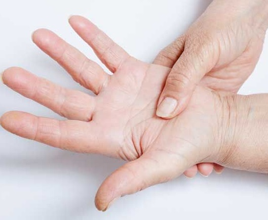 Trigger finger pain relief Singapore
